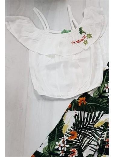 Riccotarz Kız Çocuk Palm Beach Alt Üst Takım Yeşil
